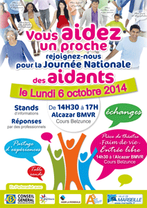 Affiche Journée nationale des aidants 2014