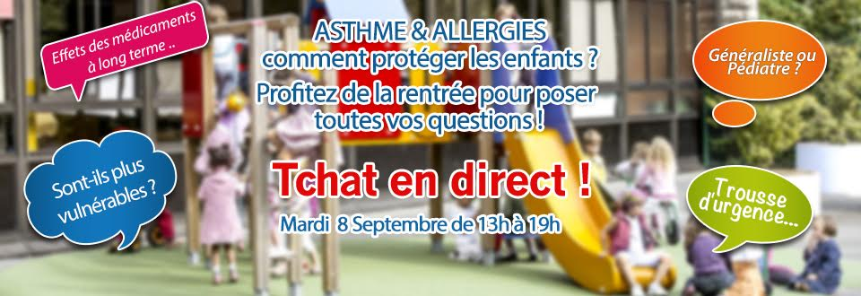 asthme allergies comment prot ger les enfants tchat en ligne ap hm. Black Bedroom Furniture Sets. Home Design Ideas